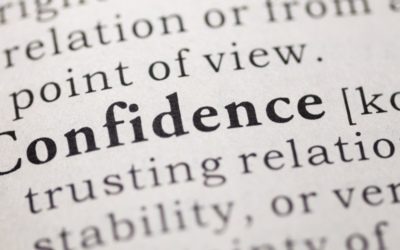 What I Didn't Know About Confidence?